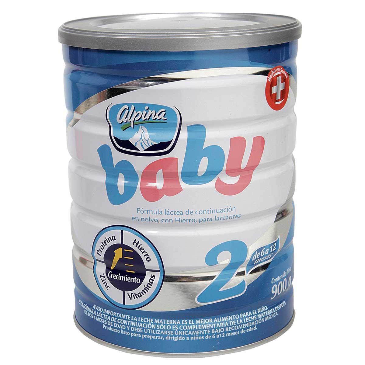 Formula Infatil Alpina Baby 2 Etapa 6 A 12 Meses Colsubsidio