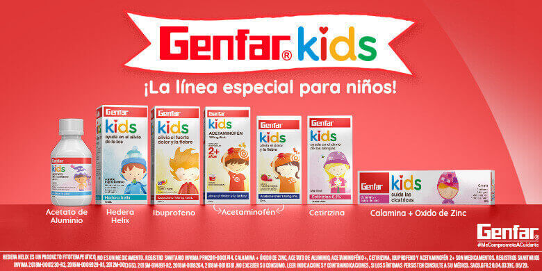 Productos Genfar Kids