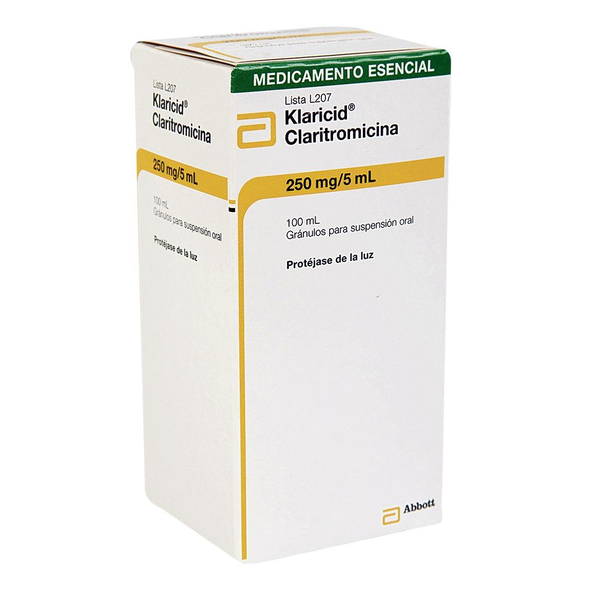 Klaricid 250 Mg 5 Ml Suspension Oral Colsubsidio
