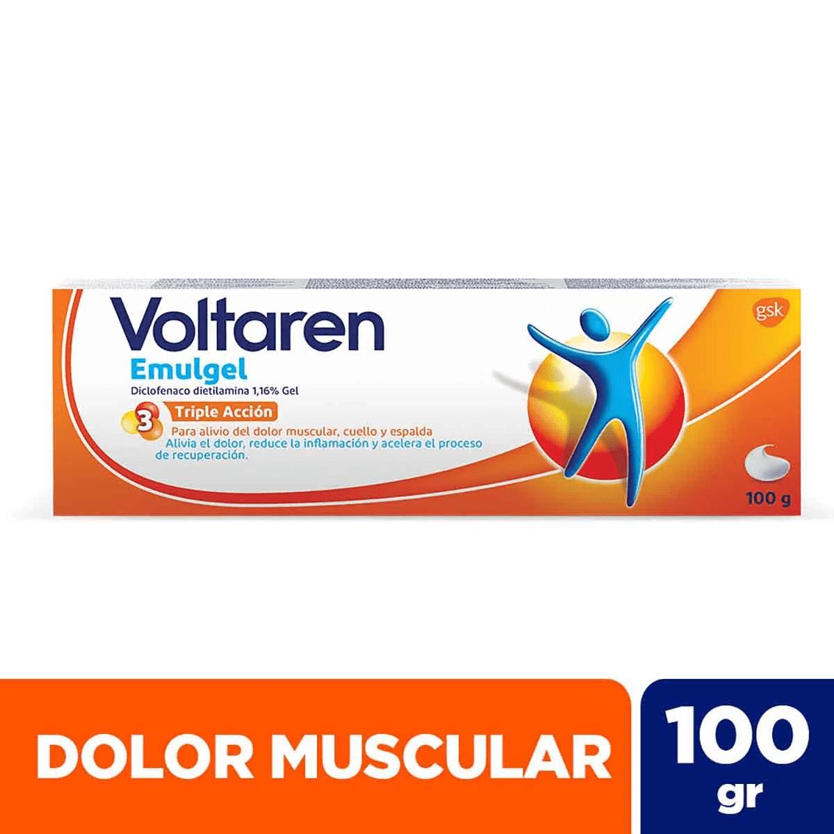 Voltaren Emulgel 11,6 mg/g Gel 50gr