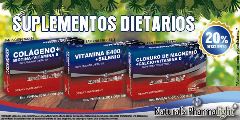 Suplementos Natural Pharmalight